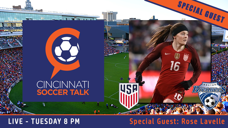 608f9e1bce1 ... Soccer Talk is back to being LIVE, TUESDAY at 8 p.m. with special guest Rose  Lavelle! That's right, CST will be welcoming the star of the US Women's ...